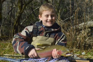 Fly Fishing, Smoky Mountains, Gatlinburg, Pigeon Forge, Sevierville, Rainbow Trout, Fly Fishing the Smokies